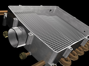 Intergas's revolutionary heat exchanger.